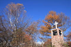 Free Church In The Forest Of Kiyosato Stock Images - 82889314