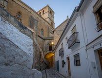 The Church of the Incarnation, Alhama de Granada, Spain Royalty Free Stock Image