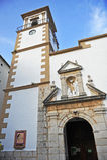 Church of the Incarnation, Grazalema, White Towns, Cadiz province, Spain Stock Images