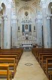 Church of Incoronata. Minervino Murge. Puglia. Italy. Stock Images