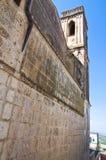 Church of Incoronata. Minervino Murge. Puglia. Italy. Royalty Free Stock Image