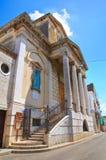 Church of Incoronata. Minervino Murge. Puglia. Italy. Stock Photography