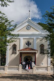 Church Indaiatuba Sao Paulo Stock Photos