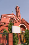 Church in India Royalty Free Stock Images