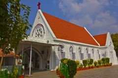 Church in India Royalty Free Stock Photos