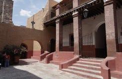 Church Inner Garden San Miguel Allende Stock Photo