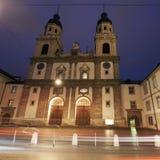 Church in Innsbruck Royalty Free Stock Photos