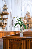 Church inside Royalty Free Stock Image