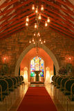 Church inside Royalty Free Stock Photography