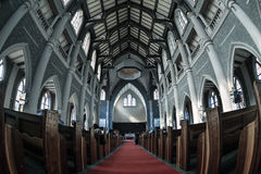 Church inside Royalty Free Stock Photos