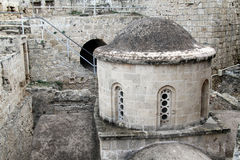 Church in Girne fortress, North Cyprus Royalty Free Stock Photo
