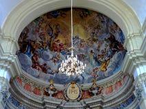 Church inside the old city of Dubrovnik Croatia Stock Image