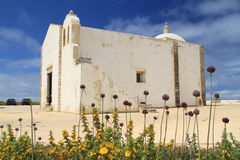 Church inside, Sagres fortress Royalty Free Stock Photos