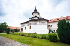 Church inside Sambata de Sus Monastery in Transylvania Stock Photo