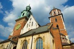 Church inside Wawel castle Stock Photo