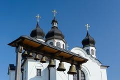 Church of the Intercession. Church of the Intercession in the Baturyn, Chernihivska oblast, Ukraine Stock Image