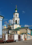 Church of the Intercession and Belfry in Kazan Stock Photography