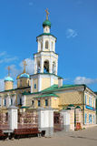 Church of the Intercession and Belfry in Kazan Royalty Free Stock Photography