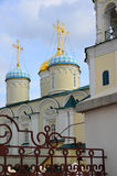 The Church of Intercession of Blessed Virgin on Bauman Street in Kazan, Russia Stock Image