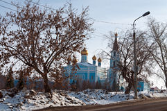 Church of the Intercession. City Kamensk-Uralsky, Russia Royalty Free Stock Photo