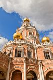 Church of the Intercession at Fili (1694) in Moscow, Russia Stock Photo