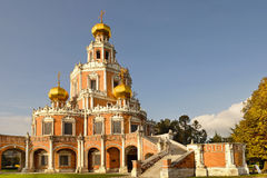 Church of the Intercession at Fili, Moscow, Russia Stock Photos