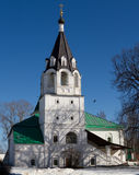 Church of the Intercession. Intercession, formerly Trinity church in the former Alexander Sloboda, now the town of Alexandrov - tent, to the cellars and Stock Image