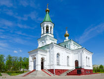 Church of Intercession of Holy Virgin Holy Protection Church, Polotsk, Belarus Stock Photo