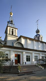 Church of the Intercession of the Holy Virgin in Issyk. Kazakhstan Royalty Free Stock Images