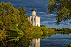 Church of the Intercession of the Holy Virgin Royalty Free Stock Images