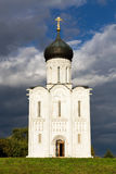 Church Intercession of Holy Virgin on Nerl River. Russia Stock Photography