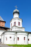 Church of the Intercession of the Holy Virgin in Novgorod Stock Photo