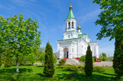Church of Intercession of Holy Virgin, Polotsk, Belarus Stock Photography