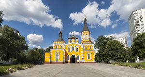 Church of the Intercession of the Holy Virgin Stock Image