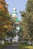 Church of the Intercession of the Holy Virgin in Vologda Stock Images