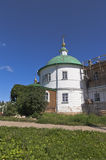 Church of the Intercession of the Holy Virgin in the Voskresensky Goritsky Monastery Vologda region Royalty Free Stock Image