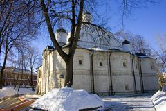 The Church Of The Intercession Moscow Royalty Free Stock Photos
