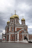 The Church of the Intercession of the Most Holy Mother of God. Stock Image