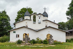 Church of the Intercession and Nativity, Pskov Stock Photo