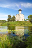 Church of the Intercession on the Nerl Royalty Free Stock Photography