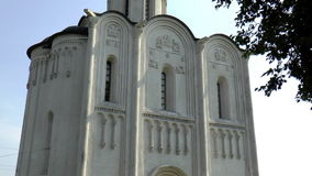 Church of the Intercession on the Nerl stock footage