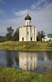 Church of the Intercession on the Nerl near  Bogolyubovo. Vladimir oblast. Russia Stock Photos