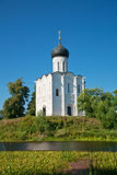 Church of Intercession upon Nerl River. Stock Images