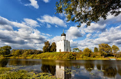 Church of Intercession upon Nerl River. Bogolubovo Stock Image