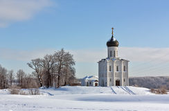 Church of the Intercession on the Nerl, Russia Stock Photography