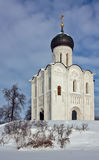 Church of the Intercession on the Nerl, Russia Stock Photos