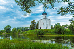 Church of the Intercession on the Nerl (1165), UNESCO heritage s Stock Photos