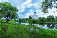 Church of the Intercession on the Nerl (1165), UNESCO heritage s Royalty Free Stock Images