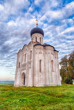 Church Intercession Of Holy Virgin On Nerl River. Russia (HDR) Royalty Free Stock Photo