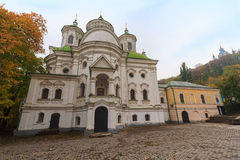 Church of the Intercession on Podil. Kiev, Ukraine Royalty Free Stock Photography